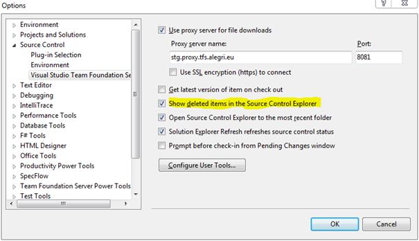 Gelöschte Dateien in Team Explorer anzeigen – writeabout net