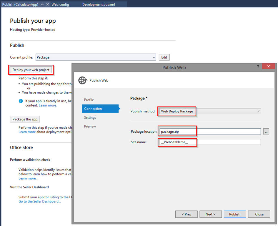 How to deploy SharePoint Apps with VSTS Release Management