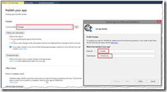 Package SharePoint App
