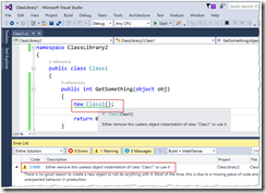 Sonar Error in Visual Studio