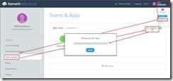 Get Xamarin Test Cloud API Key