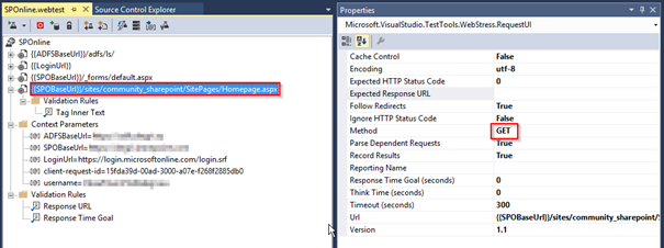 How to write web performance tests for SharePoint Online and
