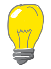 Bulb, light bulb, light, idea, bright