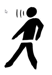 Persona, Person, Pedestrian, Walker, Walking Man, GPS, Sign