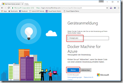 log in to azure driver
