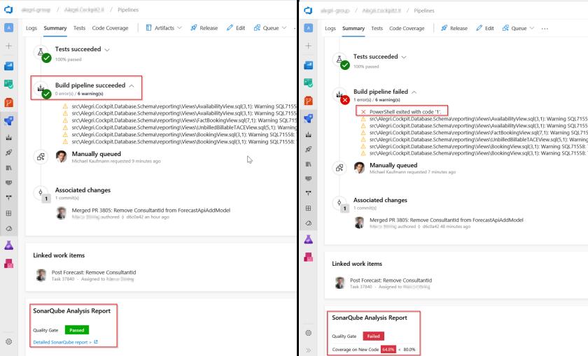 Fail your Azure DevOps pipeline if SonarQube Quality Gate